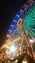 Das Erfurter Weihnachtsriesenrad